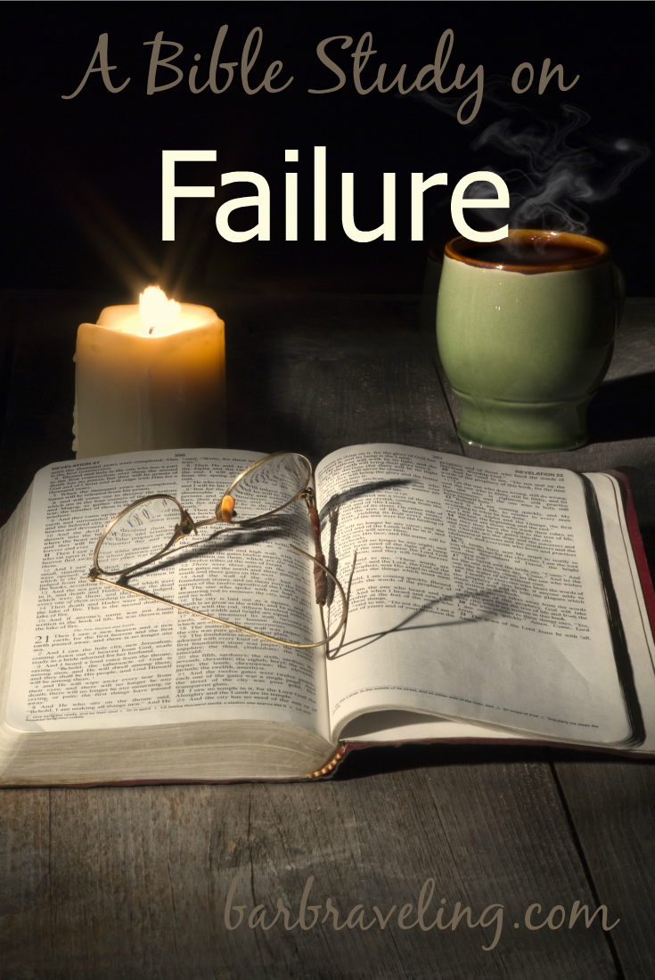 Do you ever feel like you'll never get over that sin or bad habit? This free Bible study on failure will help!