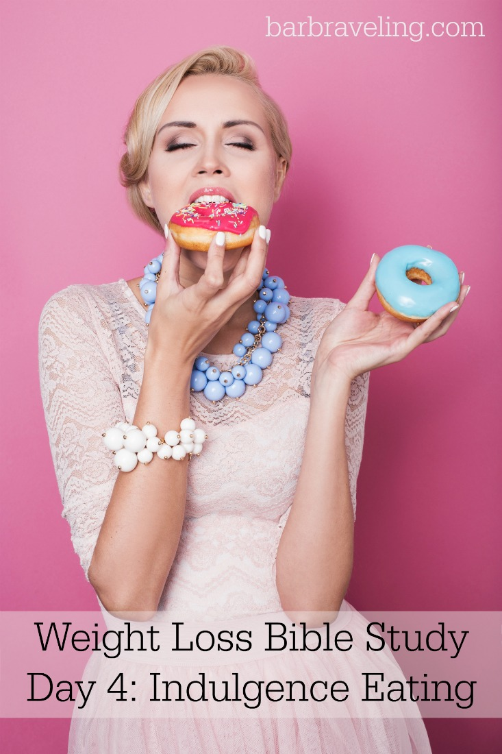 Do you have a hard time losing weight because you want to eat what you want when you want? If so, this Bible study will help!