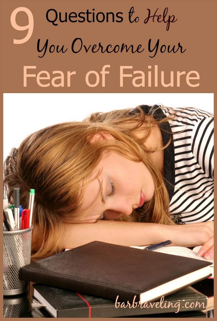 Are you afraid of failure? These questions and Bible verses will help you have a conversation with God about your fears.