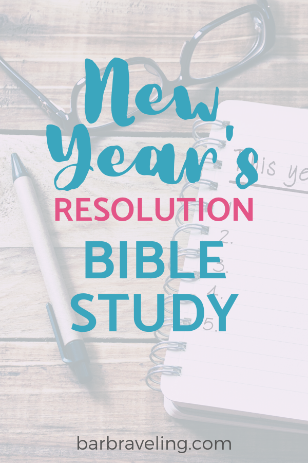 This New Year's Bible study will help you follow through on those resolutions even when you don't feel like it!
