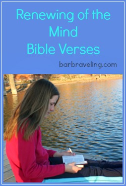 Renewing of the Mind Bible Verses