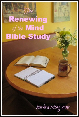 Renewing Your Mind Bible Study
