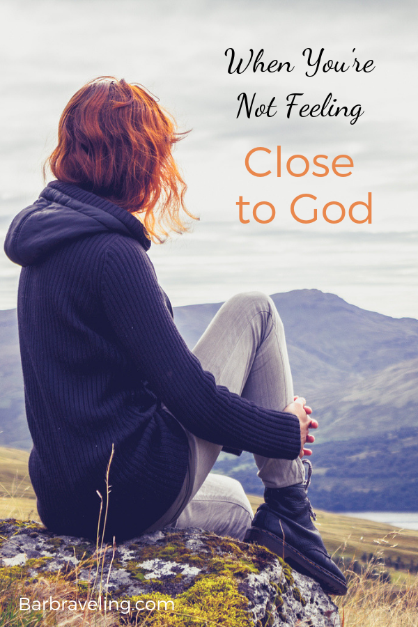 Do you feel distant from God but you're not sure why? Here are some questions to ask when you're not feeling close to Him. #faith #relationshipwithGod