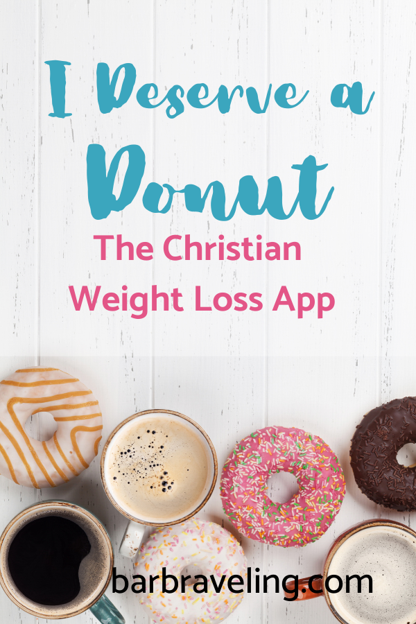 title image: I Deserve a Donut Christian Weight Loss app