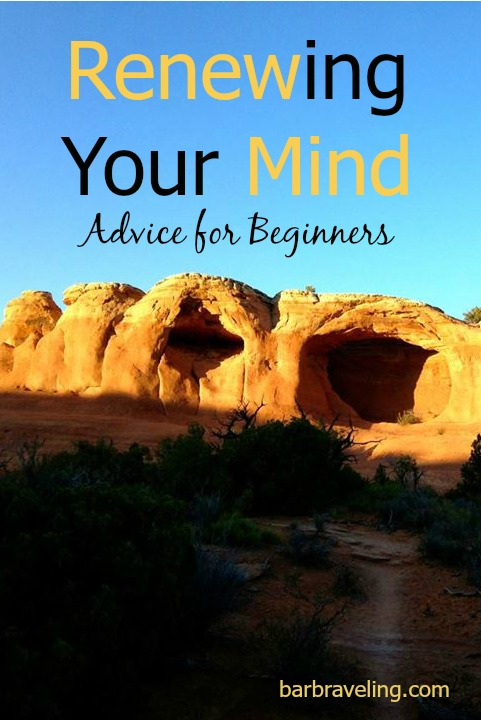 Renewing your mind is a life-changing habit but it can take awhile to develop. Here are some tips if you're just getting started.