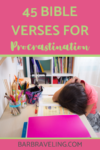 Bible Verses for Procrastination