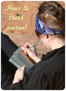 How to Truth Journal