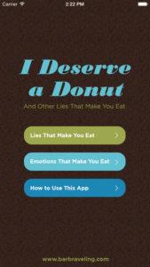 I Deserve a Donut update