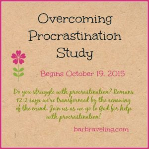 Overcoming Procrastination Study