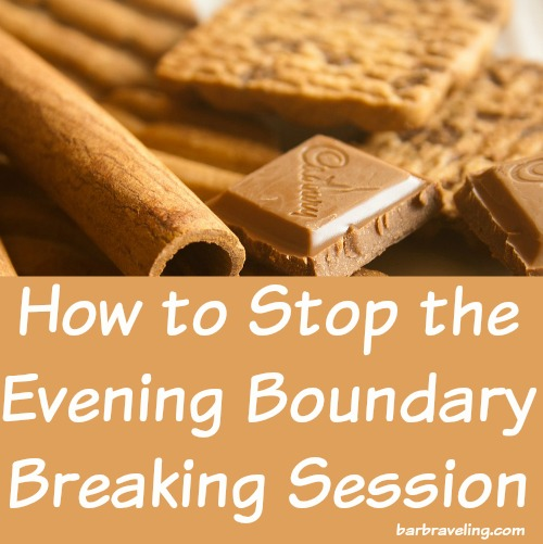 How to Stop the Evening Boundary Breaking Session