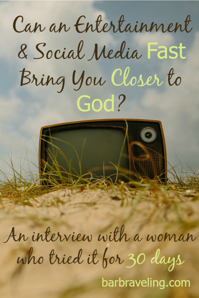 Do you ever feel like technology is taking over your life? An entertainment and social media fast may help!