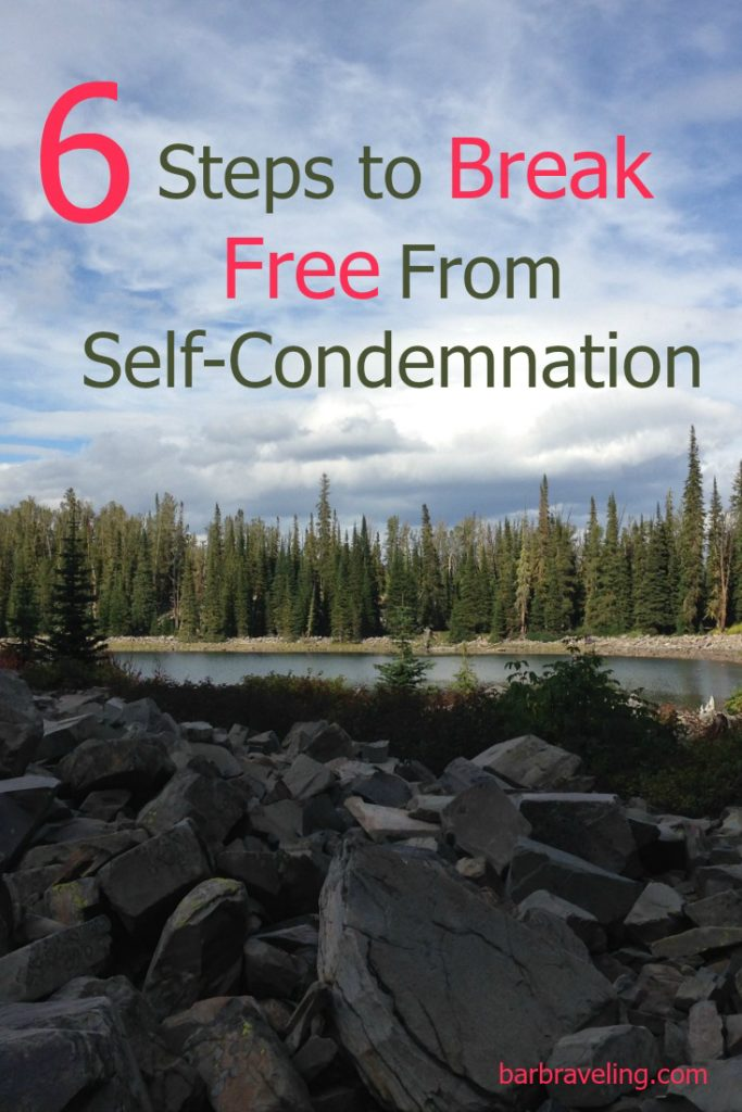 Do you suffer from self-condemnation? Here's steps to breaking free from self-condemnation.