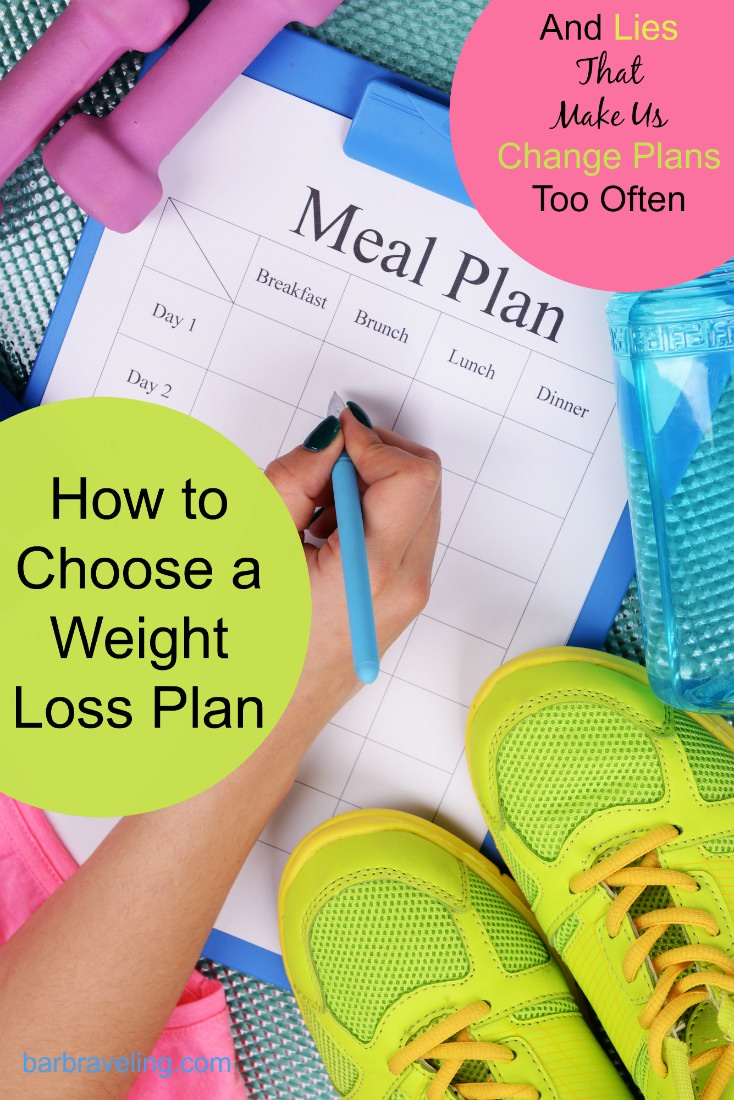 Do you ever feel like maybe another weight loss plan will work better? If so, this post on how to choose a weight loss plan will help!