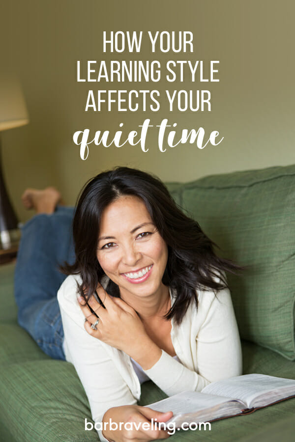 How Your Learning Style Affects Your Quiet Time