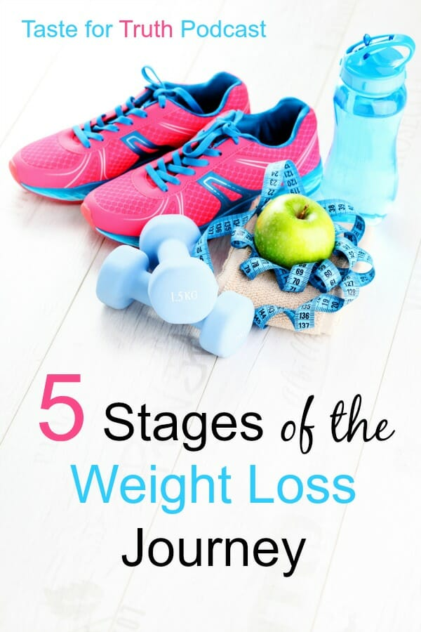 5 Stages of the Weight Loss Journey