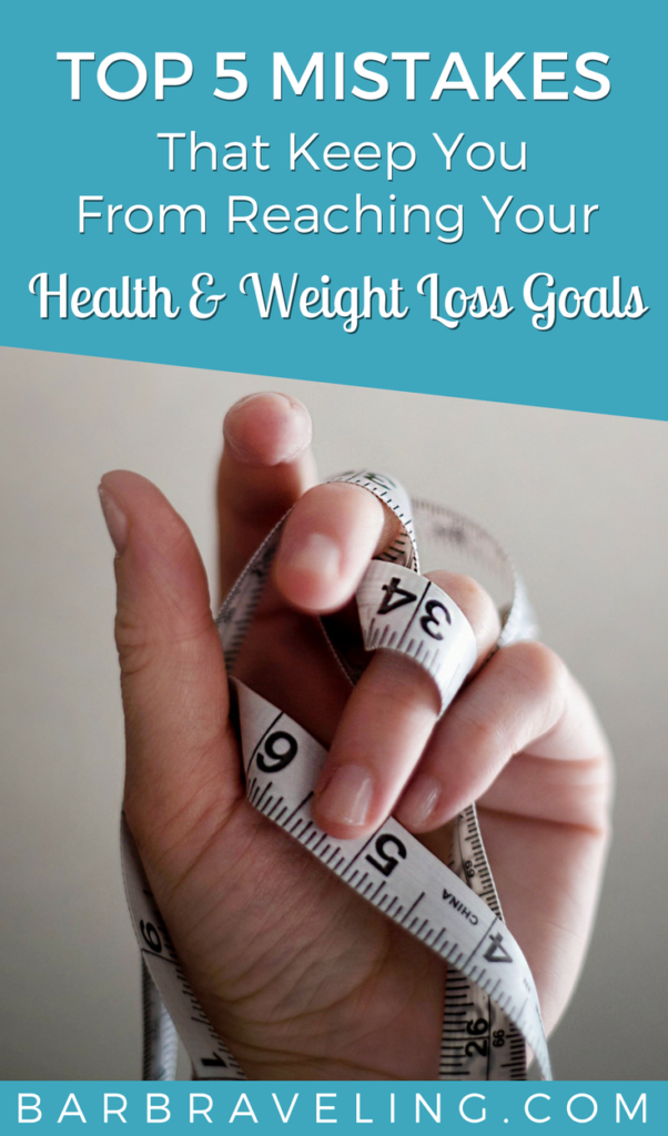 Top 5 Mistakes That Keep You from Reaching Your Health and Weight Loss Goals with Cathy Morenzie