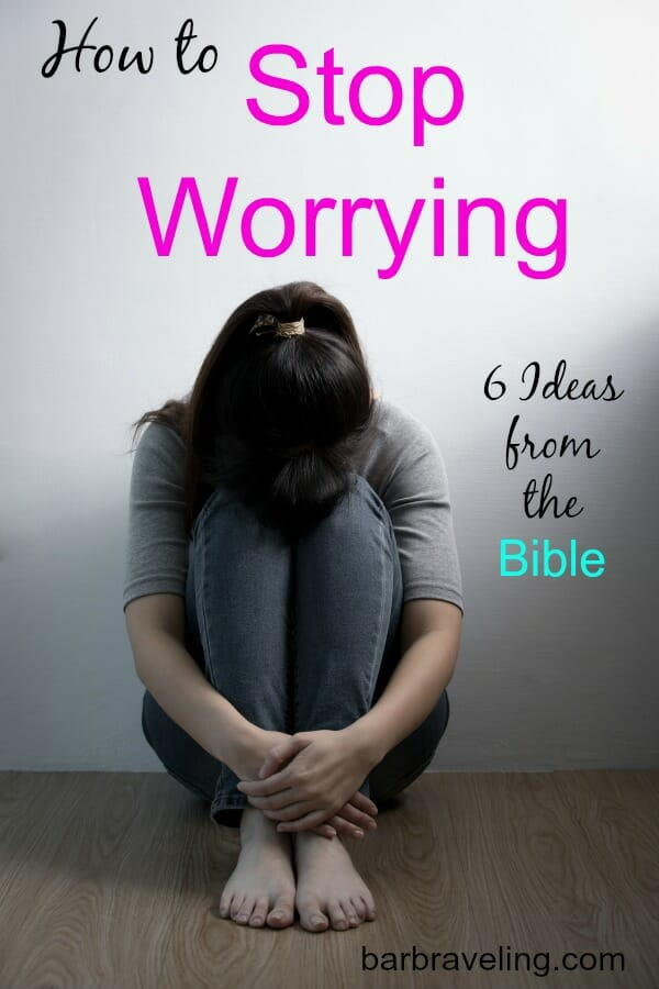Do you ever find yourself waking up in the middle of the night worried? In this post (and podcast) we'll talk about how to stop worrying with God's help.