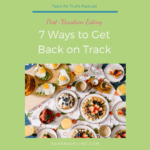 7 Ways to Get Back on Track
