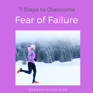 Do you ever avoid trying scary goals because you're afraid of failure? In this blog post we'll talk about 7 steps you can take to overcome fear of failure.
