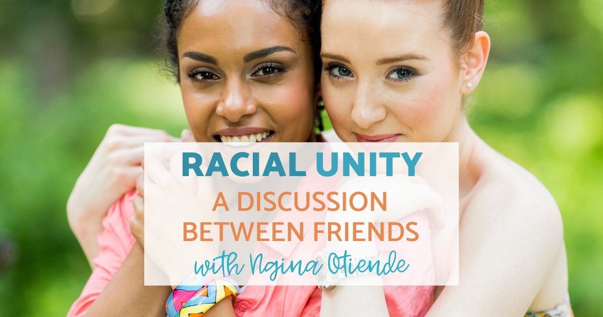 A Discussion Between Friends About Racial Unity