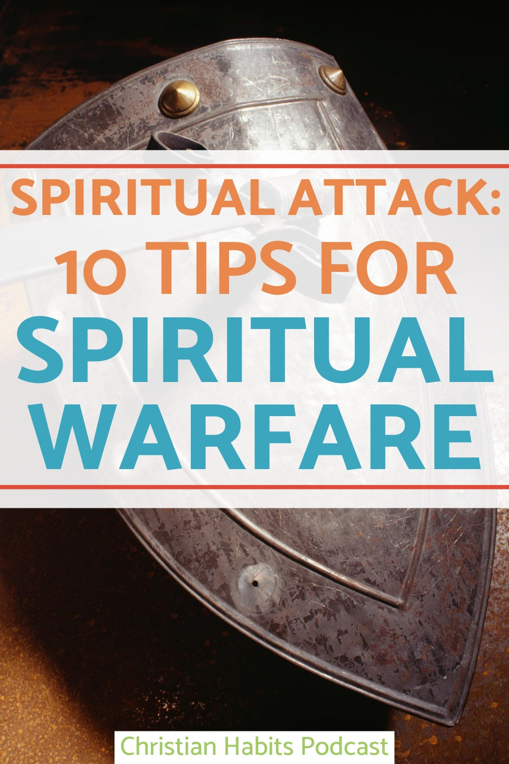 On today's episode of the Christian Habits Podcast, we're looking at spiritual attack and spiritual warfare. We'll study what it is, how to face it and what we can learn.
