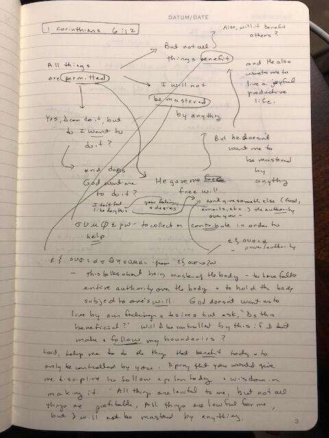 How to Meditate on Scripture - Diagramming Scripture